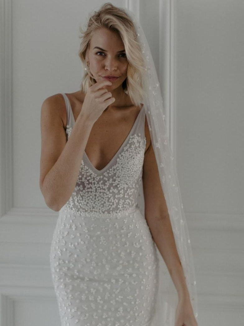 MWL, Made with love bridal, Rosey dress